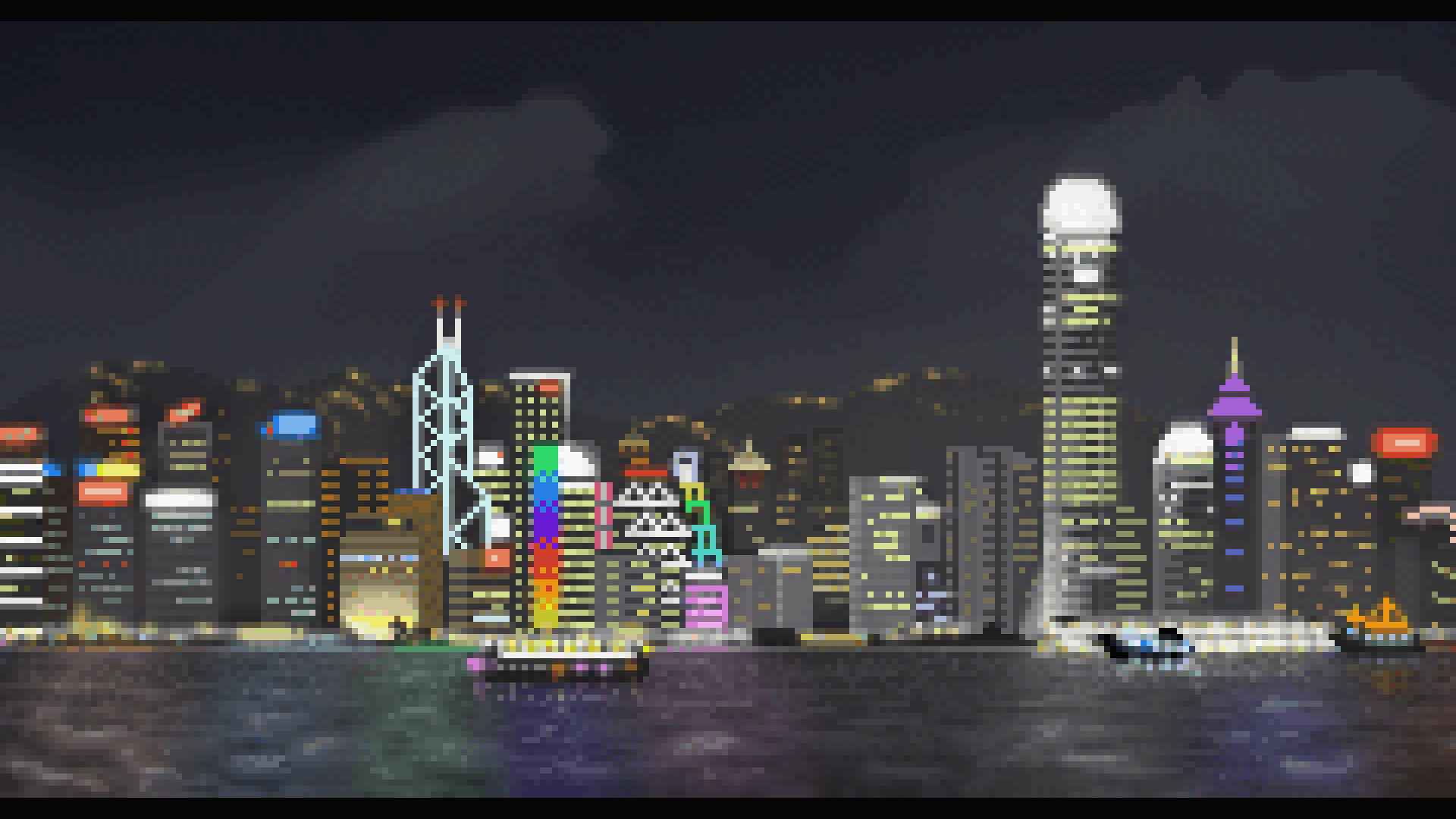 Raspberry Pi Wallpaper Hd Funemployment Project One Pixel Art Hong Kong