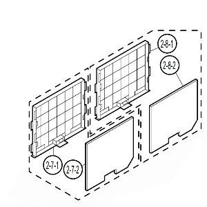 XR-10x-L filterhouder voorzijde LHLDZA781WJKA