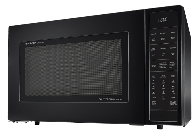 SMC1585BB 15 Cu Ft Black Convection Microwave  SHARP