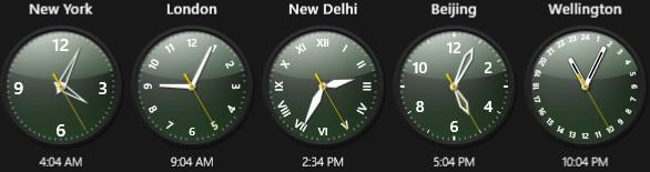 world clock for windows