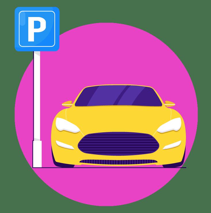 Gestión del aparcamiento de la empresa - Sharvy