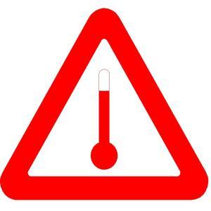 Elevated Temperature Mark