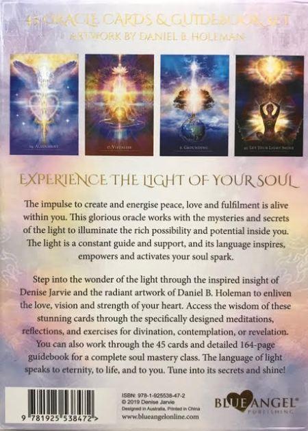 The Secret Language of Light Oracle Card Deck | Shasta Rainbow Angels