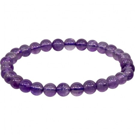 Amethyst Stretch Bracelet | Shasta Rainbow Angels