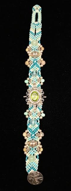 Isha Peridot & Sterling Silver Bracelet   Shasta Rainbow Angels