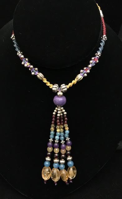 Isha Citrine & Sterling Silver Necklace | Shasta Rainbow Angels