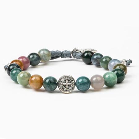Luck Agate Power Bracelet | Shasta Rainbow Angels