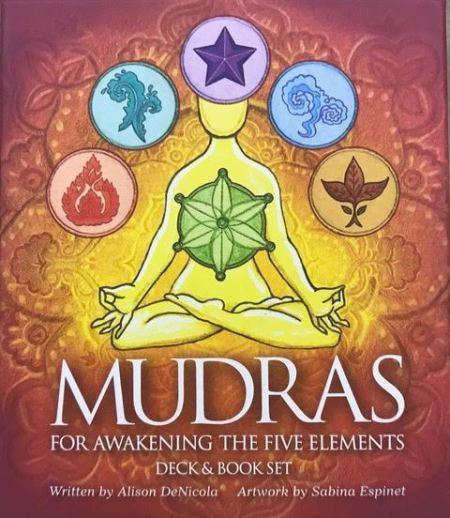 Mudras for Awakening the Five Elements Oracle Card Dec