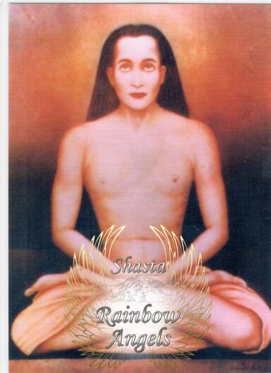 Babaji (BJ3) 5X7 | Shasta Rainbow Angels