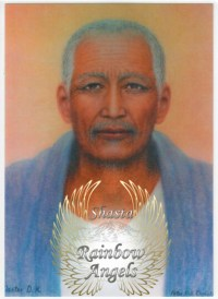 Djwal Khul (DK2) - 5X7 Laminated Altar Card | Shasta Rainbow Angels