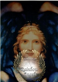Archangel Gabriel (GA1) - 5X7 Laminated Altar Card | Shasta Rainbow Angels