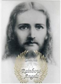 Jesus Sananda (JC1) Laminated 5x7 Art Print | Shasta Rainbow Angels
