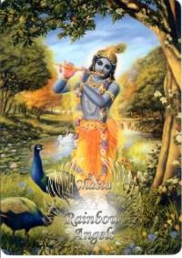 Krishna (KS1) - 5X7 Laminated Altar Card | Shasta Rainbow Angels