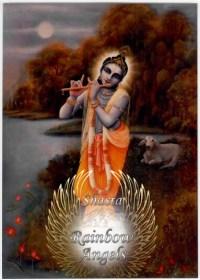 Krishna (KS3) - 5X7 Laminated Altar Card | Shasta Rainbow Angels