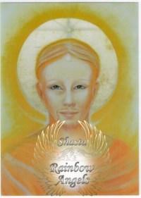 Lanto (LT) - 5X7 Laminated Altar Card | Shasta Rainbow Angels