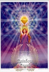 Mary Magdalene (MAG) Laminated 5x7 Art Print | Shasta Rainbow Angels