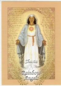 Ma Mary (MM8) Laminated 5x7 Art Print | Shasta Rainbow Angels