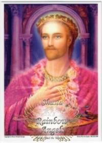 Master Paul the Venetian (PV) - 5X7 Laminated Altar Card | Shasta Rainbow Angels