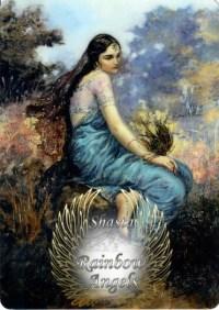 Rada (RD) 5x7 Laminated Art Print| Shasta Rainbow Angels