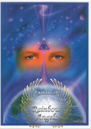 St. Germain (SG4) - 5x7 Laminated Altar Card | Shasta Rainbow Angels
