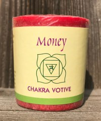 Root Chakra Muladhara 100% Pure Essential Oil Votive Candle | Shasta Rainbow Angels