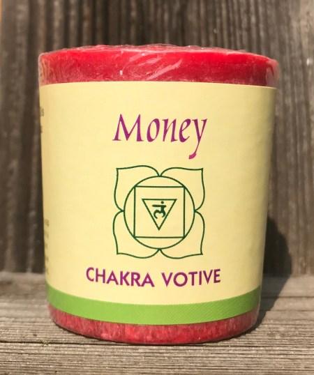 Root Chakra Muladhara 100% Pure Essential Oil Votive Candle | Shasta Rainbow Angels