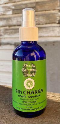 Heart Chakra Spray Mist | Shasta Rainbow Angels