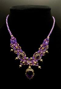 Amethyst Isha Elafi Sterling Silver Necklace | Shasta Rainbow Angels