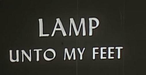 Lamp Unto My Feet (Late 1956?)