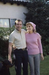 William Shatner and Gloria Rand together in the 1960's.