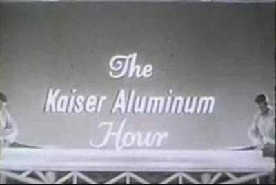 "The Kaiser Aluminum Hour – ""Gwyneth"" (12/18/1956)"