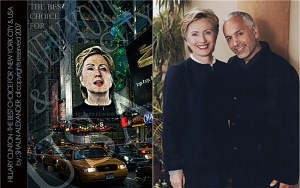 Hillary Clinton and Shaun Alexander Fashion Photographer