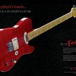 BuzzFeiten Guitar Magazine ads