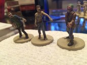 First walkers completed