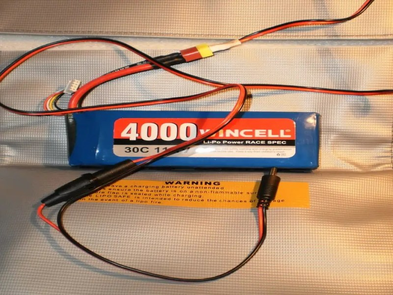 how to charge a lipo battery for the first time