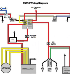 wiring yamaha xs wiring diagrams yamaha xs 650 twins 1983 yamaha xs 650 wiring diagram simple [ 1132 x 899 Pixel ]