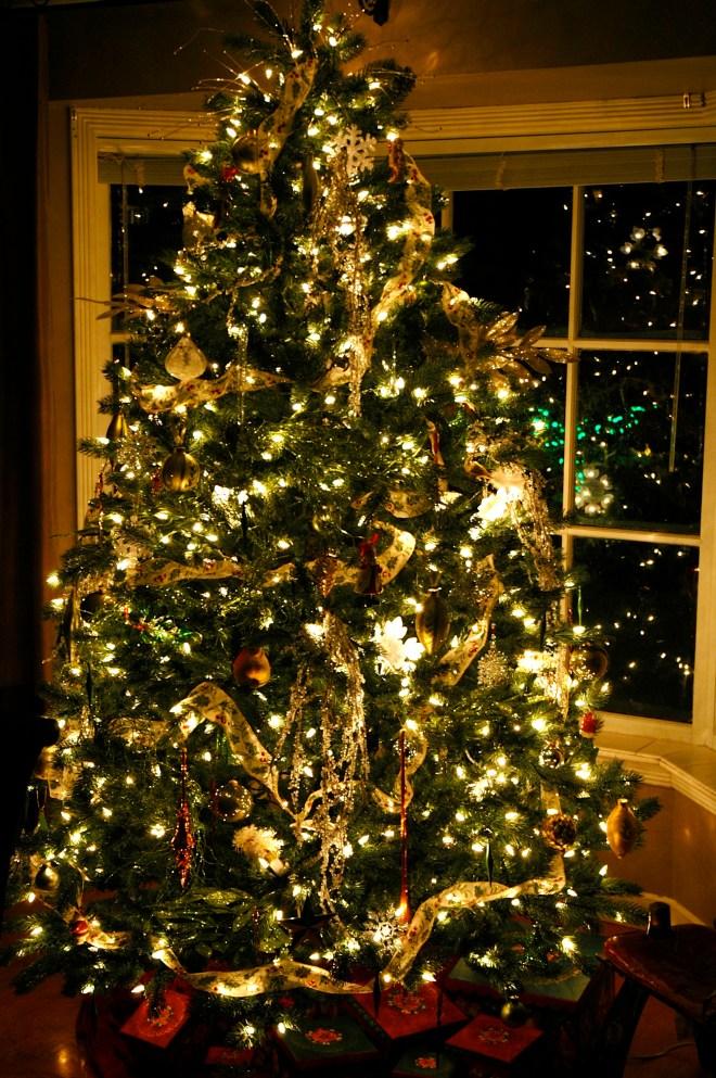 xmas tree dark