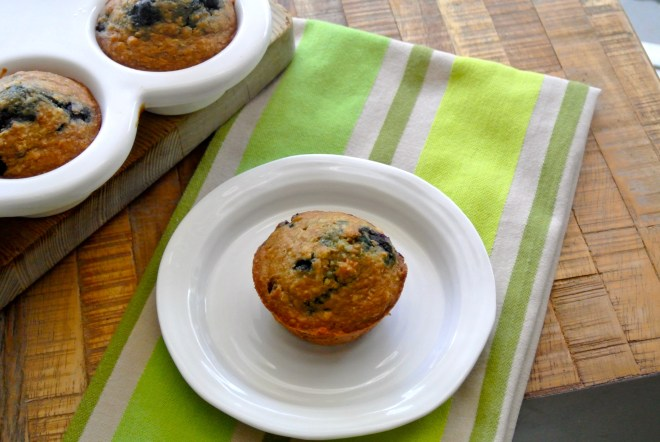 Healthy Blueberry Muffin 1