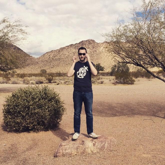Shaun in the Desert