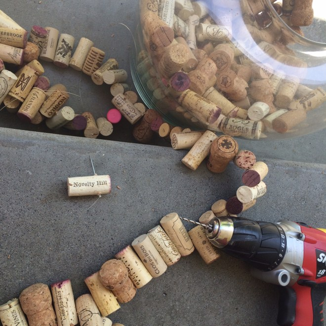 corks and drill