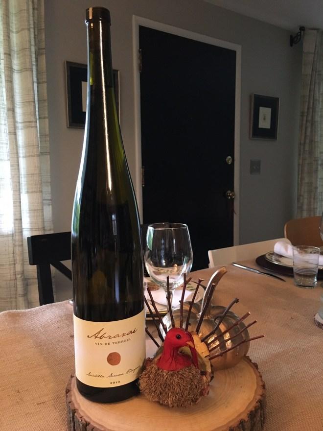 Robert Sinskey Vineyards Abraxas, Vin de Terroir