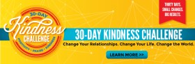 Why You Need to Start the 30-Day Kindness Challenge TODAY!