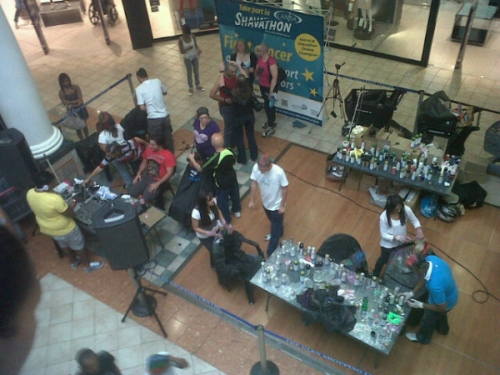 Scenes seen at any mall near you recently
