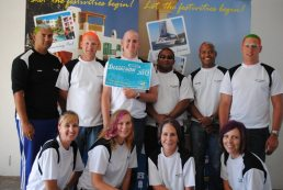 The team from Air traffic control at Club Mykonos Langebaan