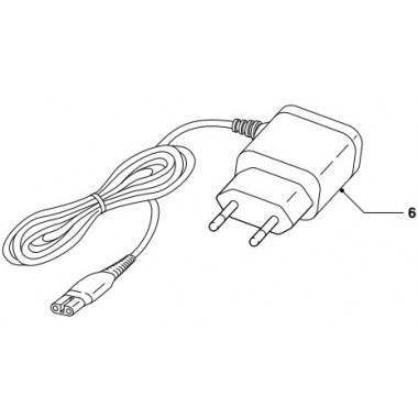 Philips 422203627671 2 Pin Power Lead
