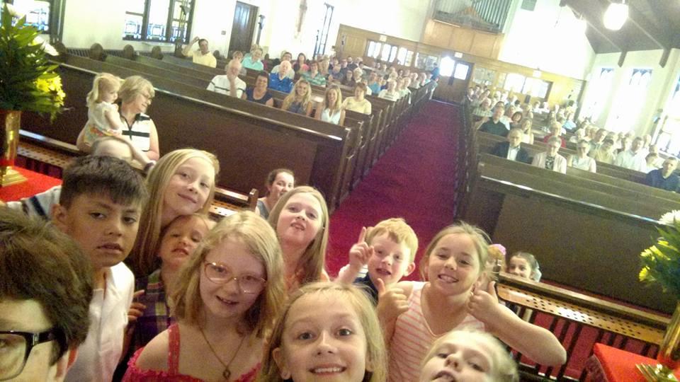 Worship Children's Message Selfie
