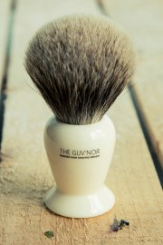 guv' badger shaving
