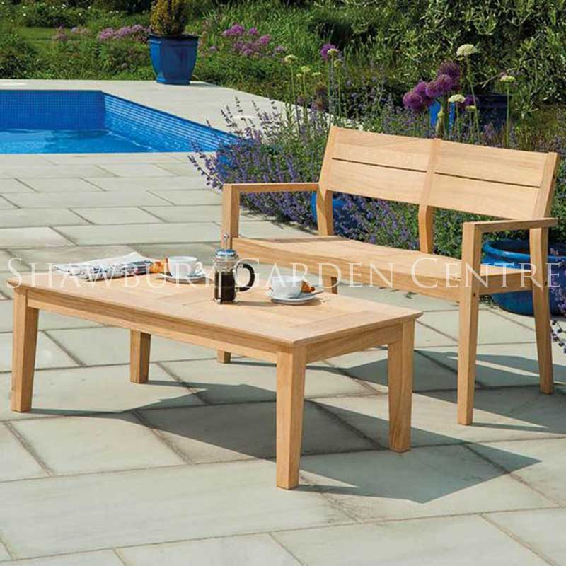 two seater garden table and chairs with 4 a bench alexander rose roble coffee set picture of