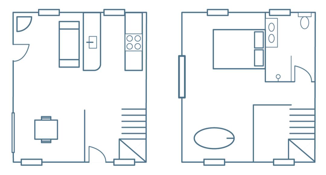 Shawclough Barn floorplan