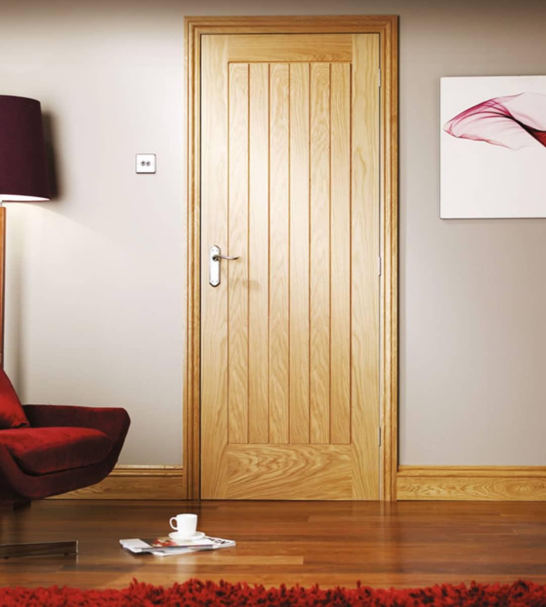 Suffolk Oak Fire Door  Shawfield Doors